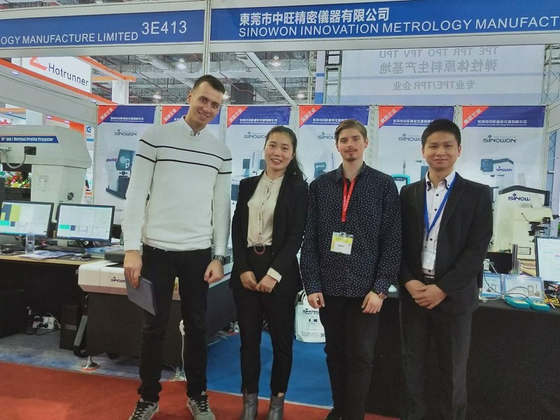 Thanks to Mr.Maciej Sitarek from Akrostal visits our DMP exhibition booth on Nov.29.2018.