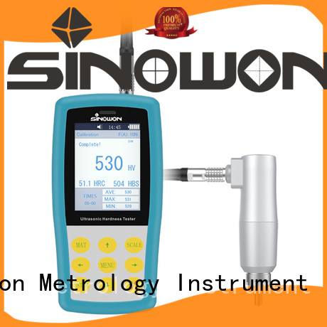 mass storage high-power microscope friendly operation durometer ultrasonic portable hardness tester Sinowon Brand